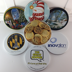 Custom Cookie Gifts and Logo Branded Cookie Tins