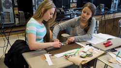 Students working on Engineering the Future